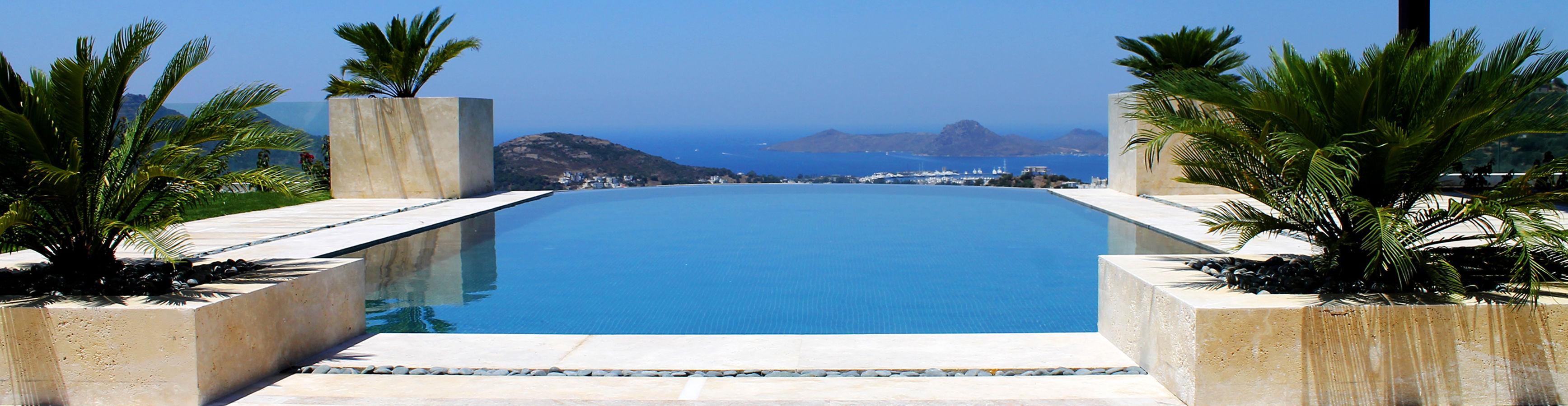Exclusieve luxe villa Bodrum Yalıkavak schitterend uitzicht privé zwembad