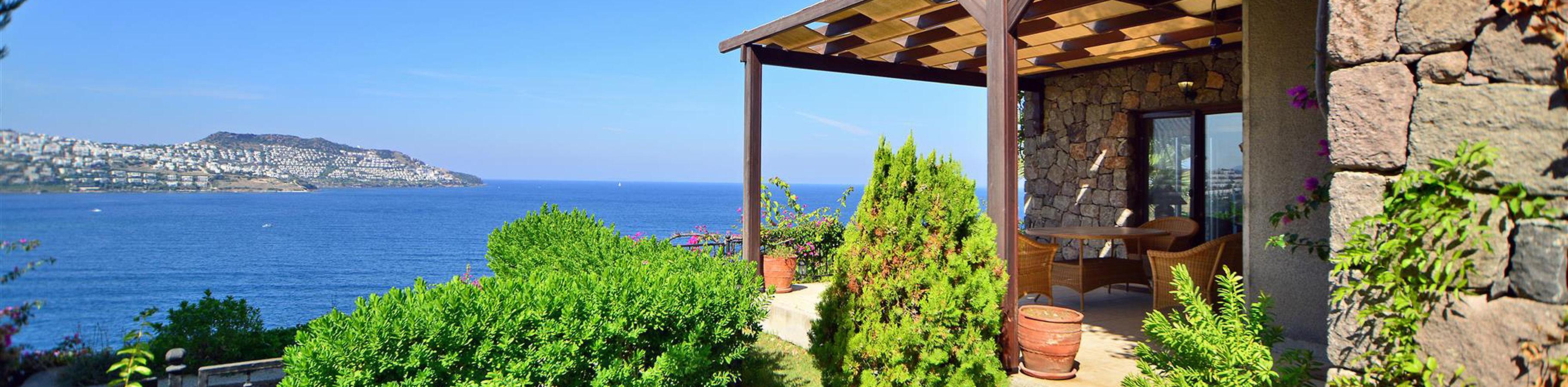Bodrum Yalıkavak'ta villa satılık özel plaj